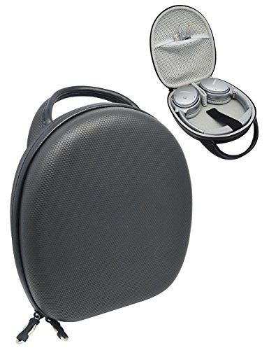 CaseSack Headphone Case for Bose QC35, QC25, QC2, QC15, QC3, Around-Ear, SoundLink On-Ear; Sony MDRXB950AB, XB950N1, XB650; JBL E45, E55, E55BT Quincy Edition, Skullcandy Hesh 3,
