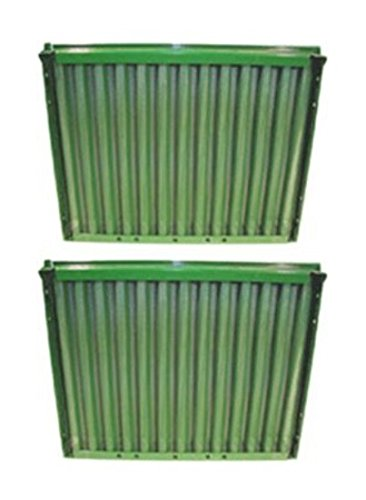 AR72949 New Set of 2 Side Screens made to fit John Deere 820 830 1020 1030 15...