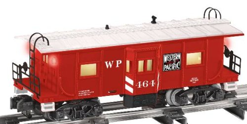 6-48754 AF Western Pacific Bay Window Caboose