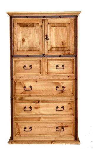 tall dresser with doors shelf hierro iron chest of drawers rustic western real wood tall dresser amazoncom wood