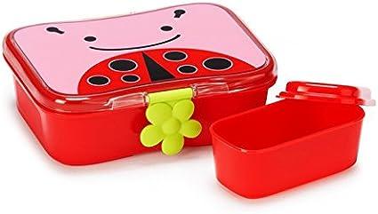 Skip Hop Zoo Bébé//Enfants/'s Lunch Kit//Lunch box de 6 MOIS COCCINELLE