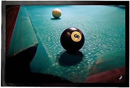 1art1 Billar - Bola Negra Felpudo Alfombra (60 x 40cm): Amazon.es: Hogar