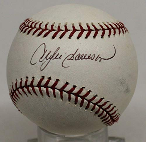 Andre Dawson Autog Official MLB Baseball Autographed Signed Memorabilia Cubs Expos - PSA/DNA Authentic ()