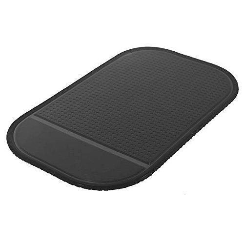 SODIAL(R) Silicona Gel Antideslizante Coche Tablero de Instrumentos Alfombrilla Antideslizante Cojin Pegajoso Magico para el Telefono PDA mp3 / 4 (Negro): ...