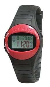 Acumen EON Basix Plus ES WP Women's Heart Rate Monitor Watch (Red)