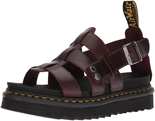 Dr. Martens Terry Sandal, Charro, 9 Medium UK (US Men's 10 US) (Terry Buckle)