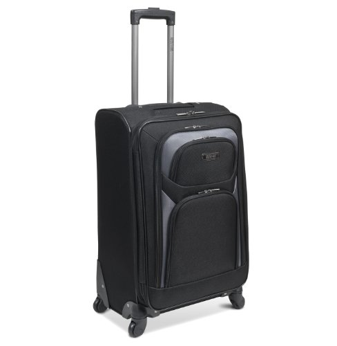 Kenneth Cole Reaction The Journey Continues Four Wheel Expandable Pullman, Black, One Size