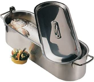 Fish Kettle All supplied with inset drainer plate From Winware