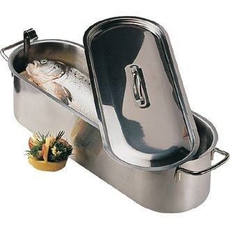 Fish Kettle Stainless Steel - 24