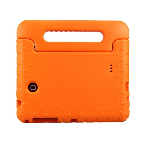 NEWSTYLE Samsung Galaxy Tab 4 8.0 Shockproof Case Light Weight Kids Case Super Protection Cover Handle Stand Case for Kids Children For Samsung Galaxy Tab 4 8-inch SM-T330 SM-T331 SM-T335 - Orange Color
