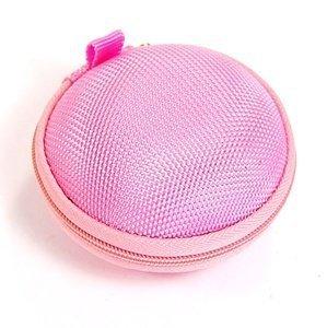 Explorer 390 Bluetooth (Bluecell Pink bluetooth handsfree headset HARD EVA Case/Bag for Jawbone ERA ICON HD & Plantronic Explorer 210 230 240 390 395)