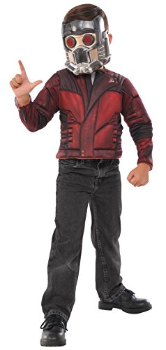 Imagine by Rubie's Guardians of The Galaxy Volume 2 Star-Lord Boxed Muscle Chest Shirt Dress-Up Set Costume, Multicolor]()
