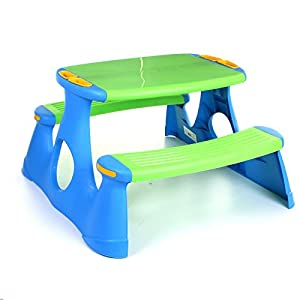 Kids Childrens Picnic Bench Ta...