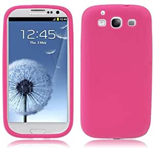 Silicone Case for for Samsung Galaxy S III / 3 / i9300 (Magenta)