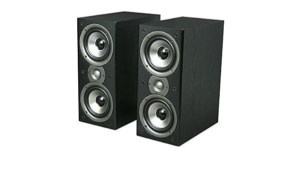 Amazon Polk Audio Monitor40 Series II Two Way Bookshelf Loudspeaker Black Pair Computers Accessories