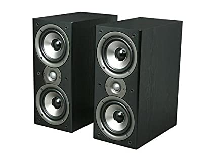 Polk Audio Monitor40 Series II Two Way Bookshelf Loudspeaker Black Pair