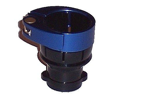 3Skull Paintball Spyder Clamping FeedNeck No Holes - Black/Blue