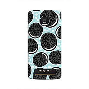 Cover It Up - Oreos Moto Z PlayHard Case
