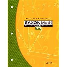 Saxon Math 6/5 Homeschool: Testing Book 3rd Edition