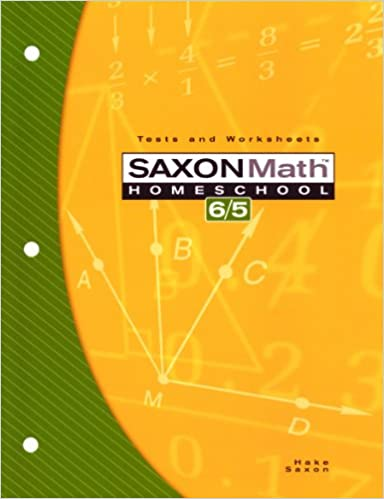 Amazon.com: Saxon Math Homeschool 6/5: Tests and Worksheets ...