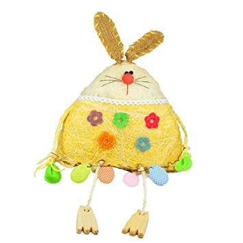 Sitting easter bunny easter gifts amazon kitchen home sitting easter bunny easter gifts negle Gallery