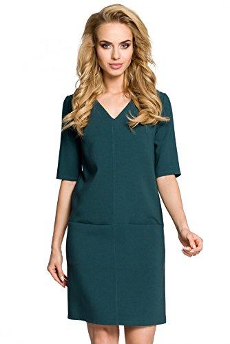 Taschen Moe Mit Grün Vorne Einfaches Kleid