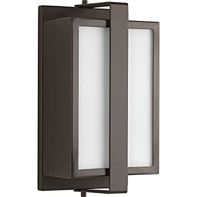 Progress Lighting P560045-129 Diverge Architectural Bronze One-Light Small Wall Lantern