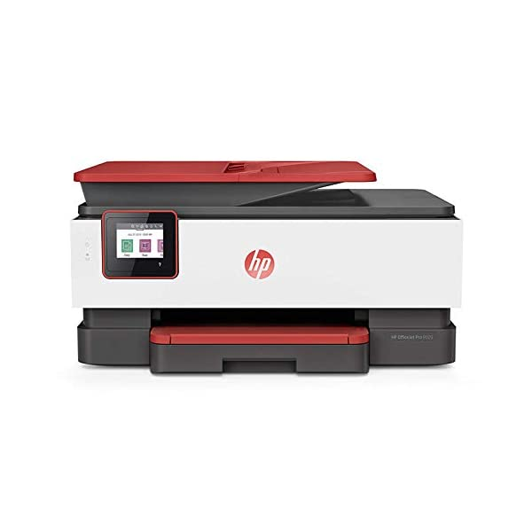 HP OfficeJet Pro 8026 All-in-One Wireless Smart Colour Printer with Auto-Duplex, Voice-Activated Printing (Works with Alexa & Google Assistant)