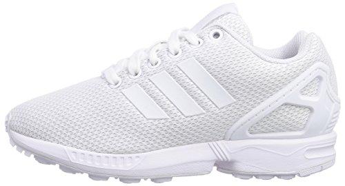 Scarpe Adidas Weiß Weiß ftwr ftwr Basse Zx Originals Da Weiß Uomo Bianco off Flux Ginnastica qAAtwpr