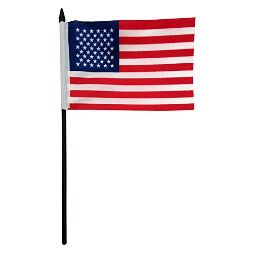 CityDreamShop Multi Purpose United States of America (USA) National Flag with Stick