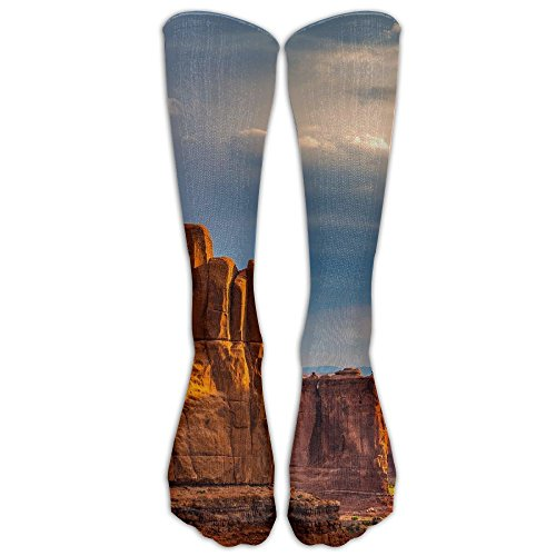 YISHOW Grand Canyon National Park Unisex Knee High Long Socks Athletic Sports Tube Stockings For Running,Football,Soccer