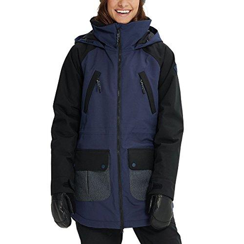 Burton Women's Prowess Jacket, Mood Indigo/Denim/True Black, Large