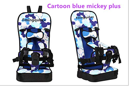 Baby Fmingquhex Convertible Car Seat, Simple Dot Minnie (Cartoon Mickey Blue, Bigger Size-Plus) by Fmingquhex