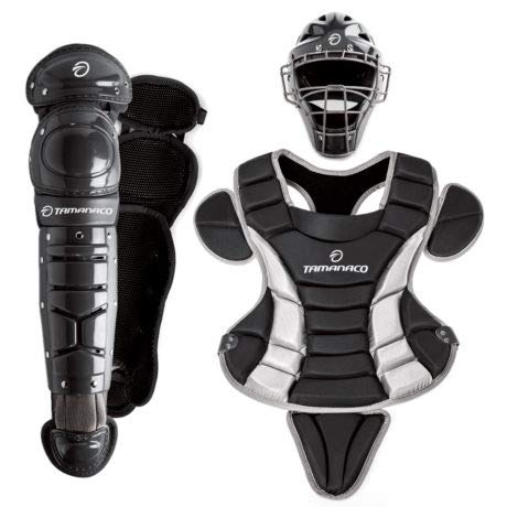 TAMANACO SACLHB Adult Catcher's Set (Black, Adult)