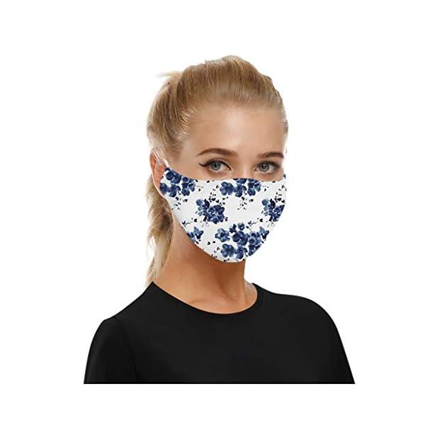 SHUANGA Mundschutz Face Cover Multifunktionstuch Motorrad Winddicht Atmungsaktiv Mundschutz Halstuch Sch/ön Atmungsaktiv Sommerschal