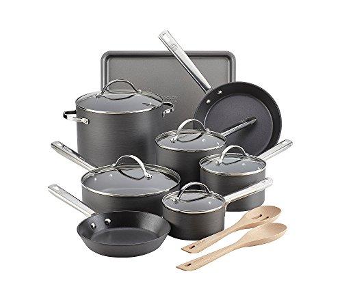 Anolon Professional Hard-Anodized Nonstick 15-Piece Cookware Set