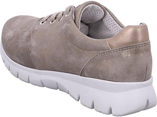 12 G 30028 donna solette sciolti New platin scarpe York larghezza Chiara Ara per HpqRwd5