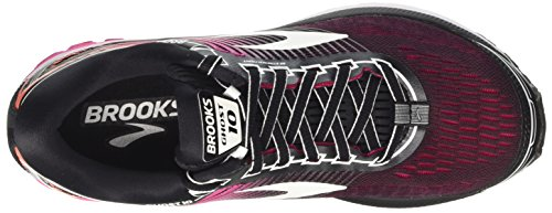 Mujer Ghost para Brooks Zapatillas 1b067 Multicolor Running de Blackpinkpeacocklivingcoral 10 1xqOqwY