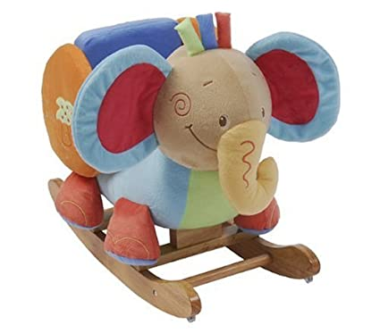 Dondolo Elefante Nattou.Nattou 936408 Dondolo Elefante Amazon It Prima Infanzia