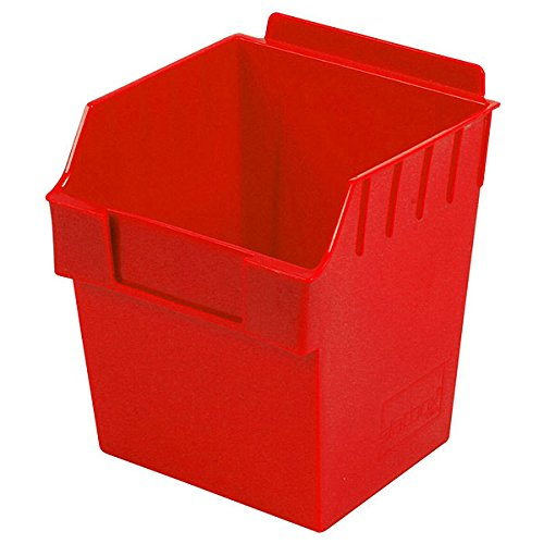 New Retail Red finish Cube Storbox bin 5.90''d x 5.90''w x 7.0''h by Storbox