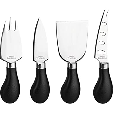 Trudeau Maison Set of 4 Specialty Stainless Steel Cheese Knives