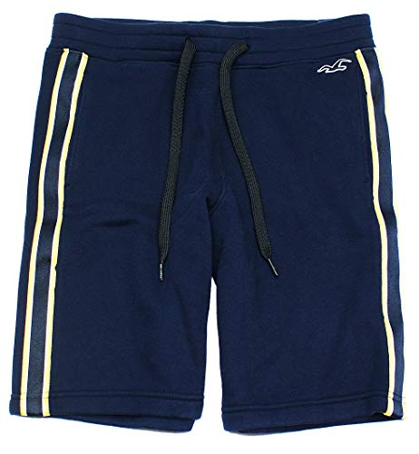 Hollister Men's Graphic Fleece Jogger Shorts HOM-1 (X-Small, 0400-200)