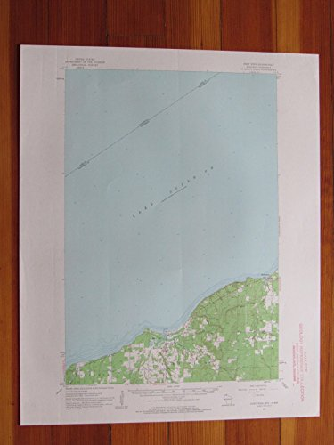 Port Wing Wisconsin 1963 Original Vintage USGS Topo Map