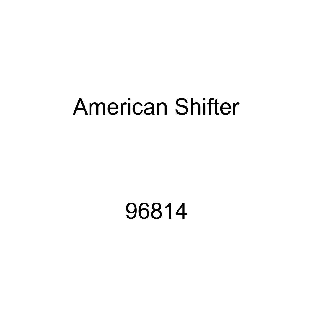 Orange I 3 My PRO Street American Shifter 96814 Red Shift Knob with M16 x 1.5 Insert