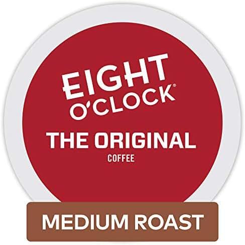Eight O'Clock Coffee The Original, Single Serve Coffee K-Cup Pod, Medium Roast, 72