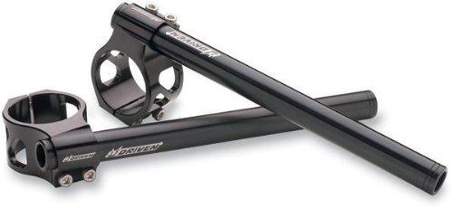 Driven Clip Ons - Driven Racing Standard Clip-Ons - 45mm - Black DCLO45BK