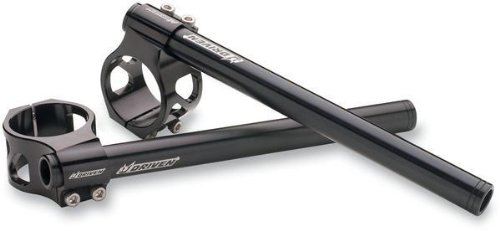 Driven Racing Standard Clip-Ons - 45mm - Black DCLO45BK ()