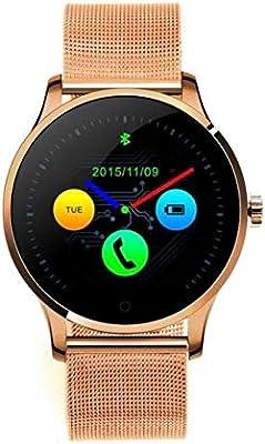 Cebbay Reloj Inteligente Monitor de sueño,Podómetro,Calendario,Control Remoto de música Pulsómetro para Android y iOS