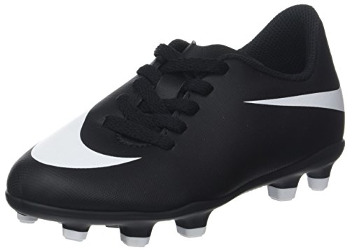 Ii Ii Fg Enfant Jr Mixte De Bravata Bravata black Football Noir Nike black white Chaussures EBAqwxZ