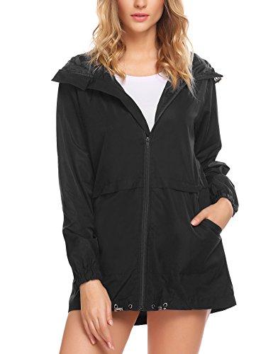 zip up rain coat - 7